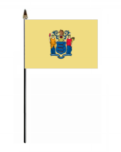 New Jersey Hand Flag - Small.